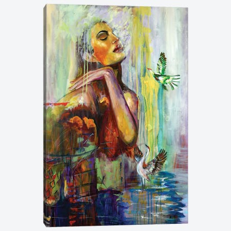 Placidness Canvas Print #NYJ22} by Niyati Jiwani Canvas Print