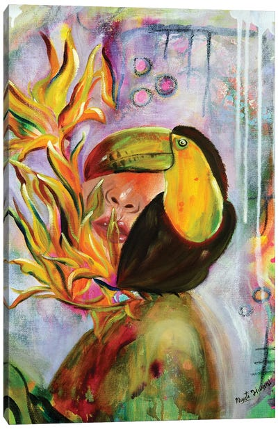 Radiant Canvas Art Print