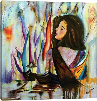 Recall Canvas Art Print