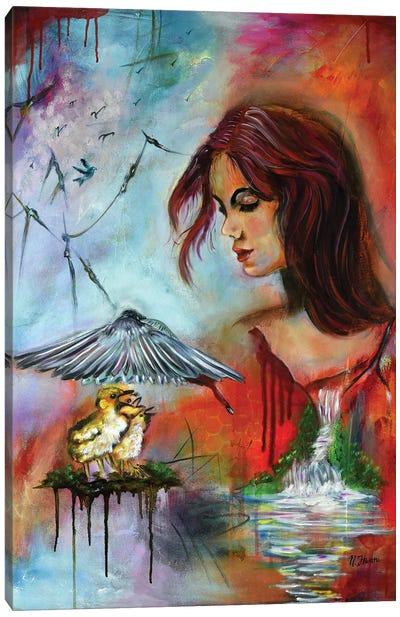 The Guardian Angel Canvas Art Print