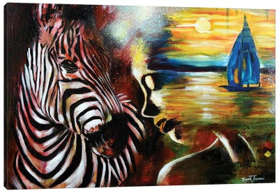 The Ravishing Spirits Canvas Art Print