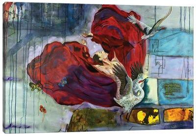 The Scarlet Canvas Art Print