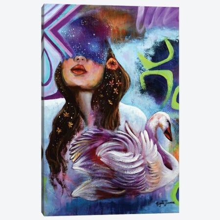 A Dazzling Star Canvas Print #NYJ28} by Niyati Jiwani Canvas Art Print