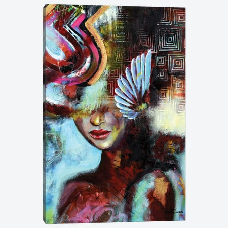 Empowerment Canvas Print #NYJ29} by Niyati Jiwani Canvas Art Print