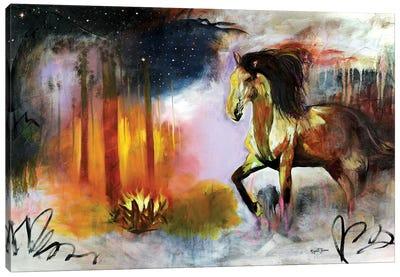 An Aplomb Run Canvas Art Print
