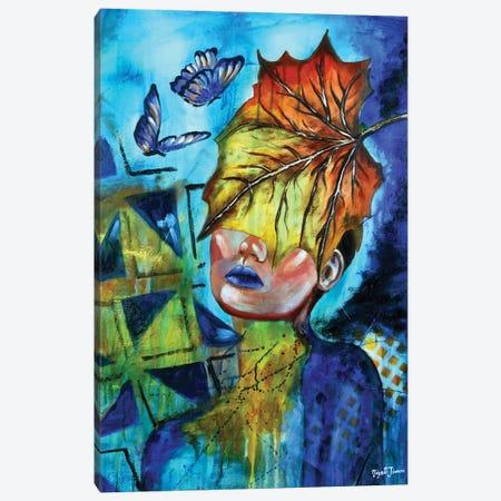 Power Of Healing Canvas Print #NYJ30} by Niyati Jiwani Canvas Artwork