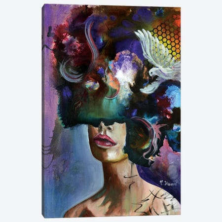 Breathe II Canvas Print #NYJ5} by Niyati Jiwani Canvas Art