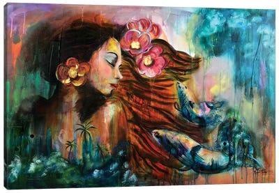 Cherish The Moment Canvas Art Print