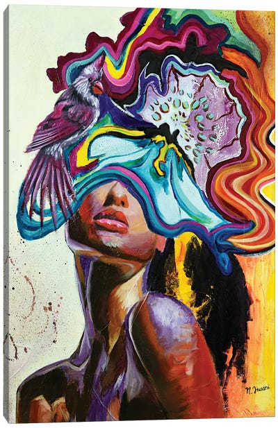 Dazzling Canvas Art Print