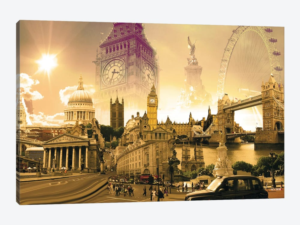 London Highlights Canvas Wall Art by Nyss   iCanvas