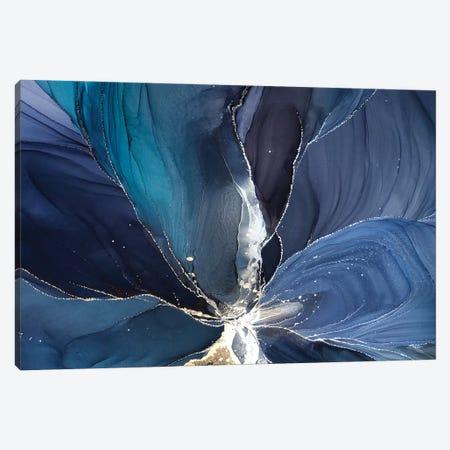 Blue Flower III Canvas Print #OAA145} by Monet & Manet Art Studio Canvas Print