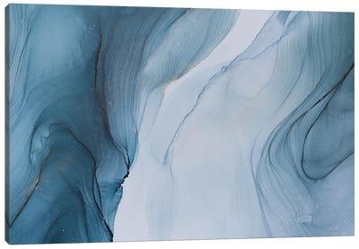 Glacier Canvas Art Print