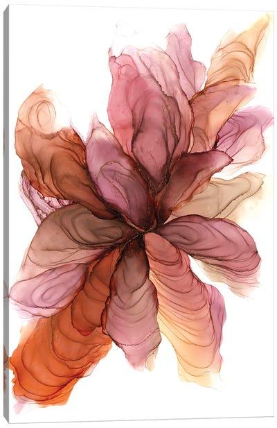Ginger Flower Canvas Art Print