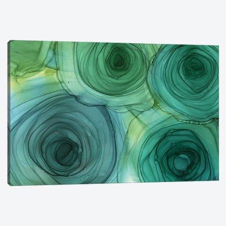 Green Roses Canvas Print #OAA58} by Monet & Manet Art Studio Art Print