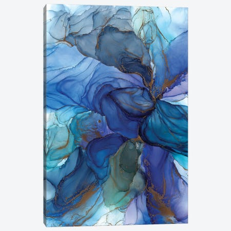 Blues Canvas Print #OAA5} by Monet & Manet Art Studio Canvas Wall Art