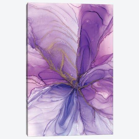 Purple Flower Canvas Print #OAA67} by Monet & Manet Art Studio Canvas Print
