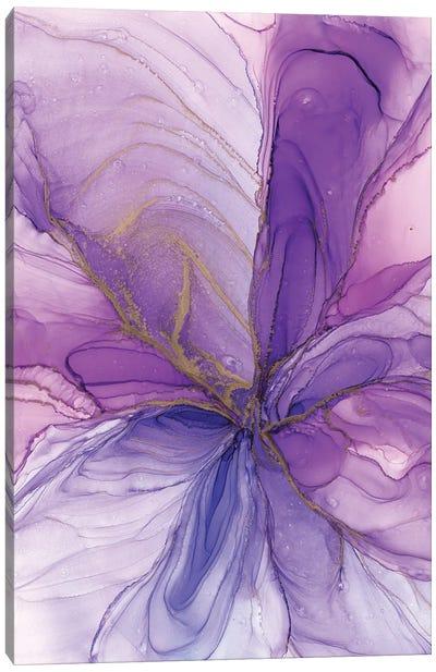 Purple Flower Canvas Art Print