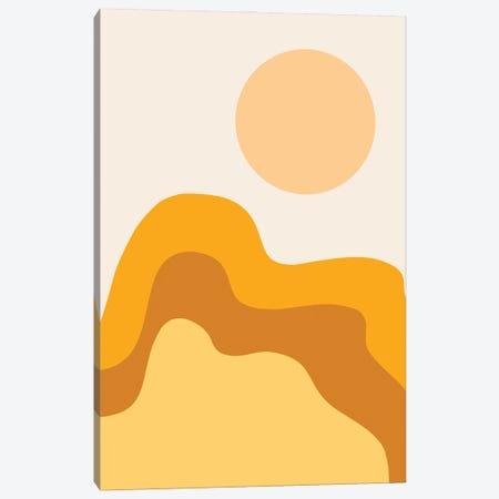 Sun Dunes II Canvas Print #OAS108} by The Old Art Studio Canvas Wall Art