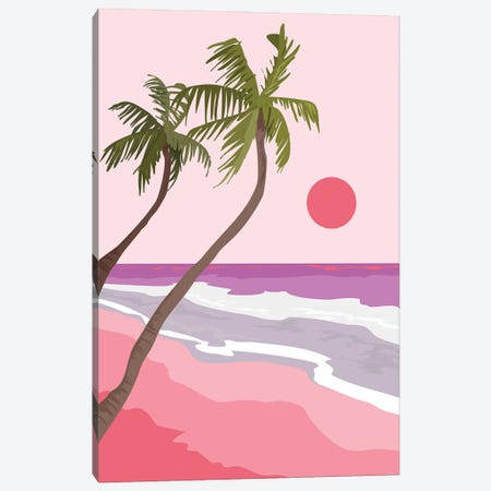 Tropical Landscape I Canvas Print #OAS127} by The Old Art Studio Art Print