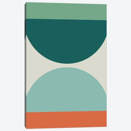 Abstract Geometric XX Canvas Print #OAS12} by The Old Art Studio Canvas Art Print