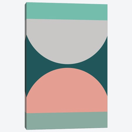 Abstract Geometric XXI Canvas Print #OAS13} by The Old Art Studio Canvas Print