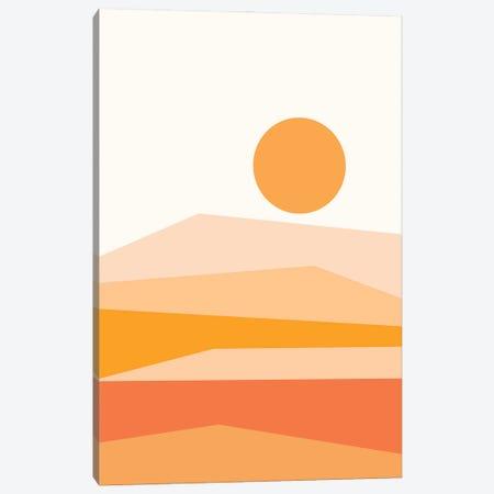 Abstract Landscape IX Orange Canvas Print #OAS27} by The Old Art Studio Canvas Print