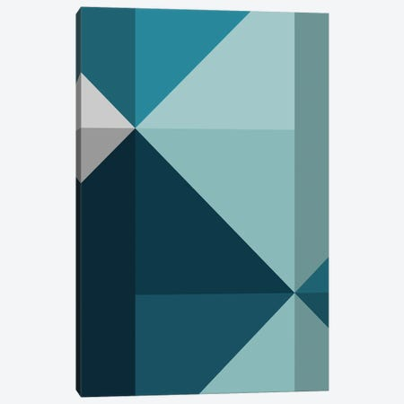 Geometric XVIII Canvas Print #OAS47} by The Old Art Studio Art Print