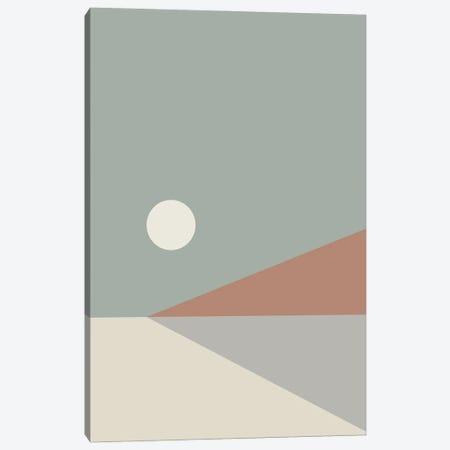 Geometric Landscape III 3-Piece Canvas #OAS51} by The Old Art Studio Canvas Art Print
