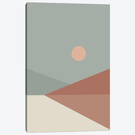 Geometric Landscape IV 3-Piece Canvas #OAS52} by The Old Art Studio Art Print