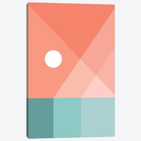 Geometric Landscape XII 3-Piece Canvas #OAS53} by The Old Art Studio Canvas Art Print
