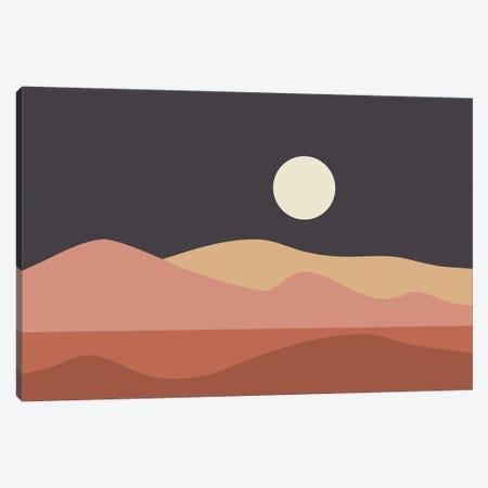 Geometric Landscape XXIIIB Canvas Print #OAS60} by The Old Art Studio Canvas Wall Art