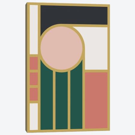 Maximalist Geometric IVB 3-Piece Canvas #OAS75} by The Old Art Studio Canvas Artwork