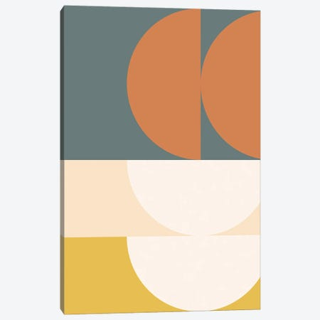Abstract Geometric II Canvas Print #OAS76} by The Old Art Studio Canvas Artwork