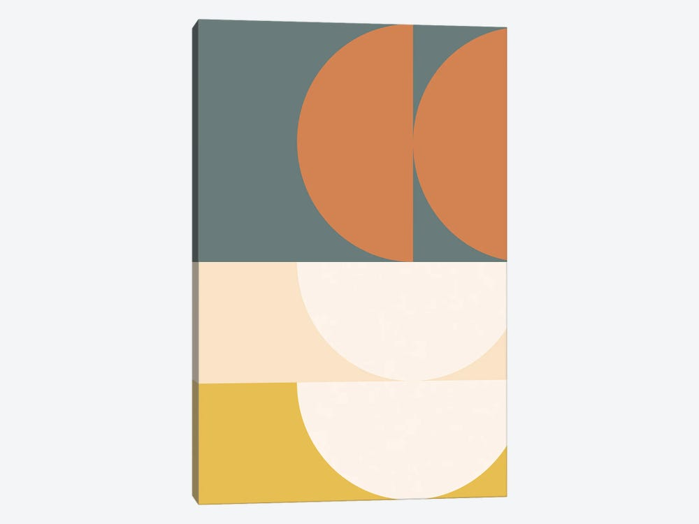 Abstract Geometric II by The Old Art Studio 1-piece Canvas Wall Art