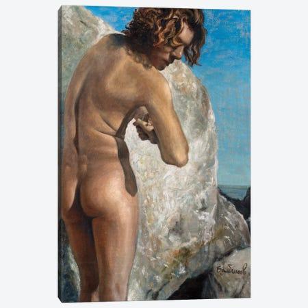 The Hide And Seek In The Rocks Canvas Print #OBA100} by Oleksandr Balbyshev Canvas Art