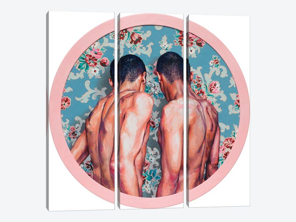 Twins by Oleksandr Balbyshev 3-piece Canvas Artwork