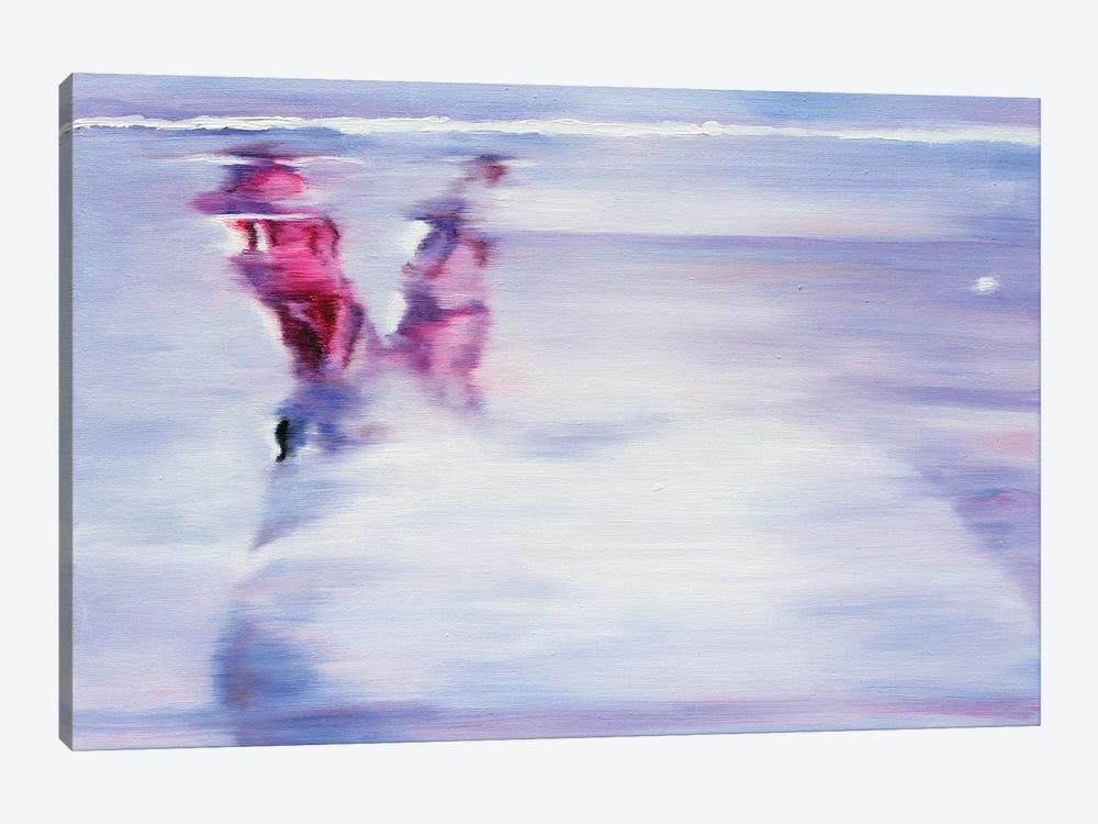 White Rabbit by Oleksandr Balbyshev 1-piece Canvas Art Print