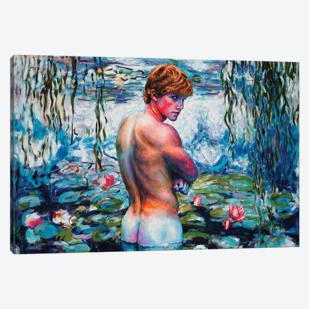 Cold Water Canvas Print #OBA129} by Oleksandr Balbyshev Canvas Wall Art