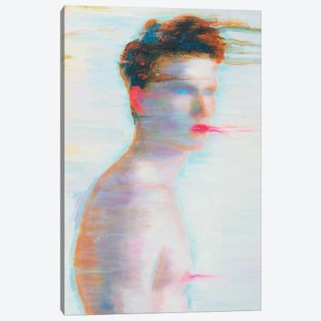 Blue Eyes Canvas Print #OBA12} by Oleksandr Balbyshev Canvas Art Print