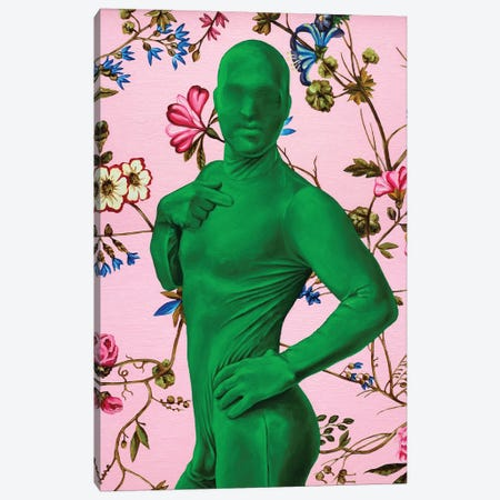 Green Man Canvas Print #OBA131} by Oleksandr Balbyshev Canvas Print