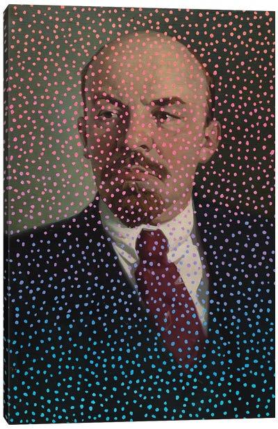 Polka Dot Lenin Canvas Art Print