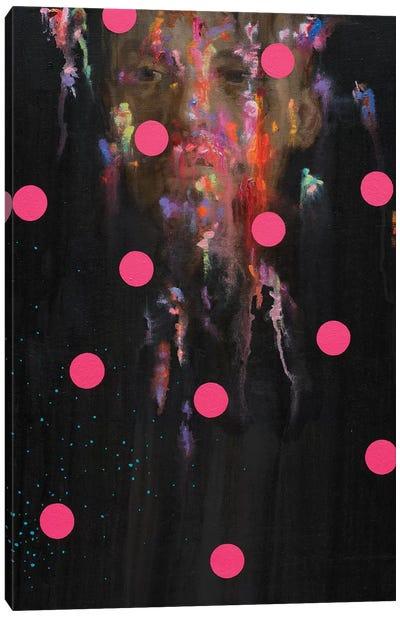 Splattered Lenin Canvas Art Print