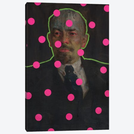 Zombie Lenin Canvas Print #OBA149} by Oleksandr Balbyshev Canvas Art
