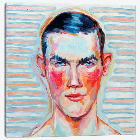 Blushing 3-Piece Canvas #OBA15} by Oleksandr Balbyshev Canvas Wall Art