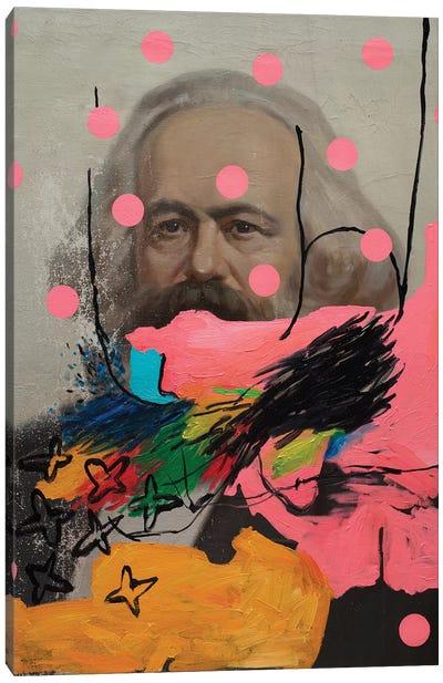 Mysterious Marx Canvas Art Print