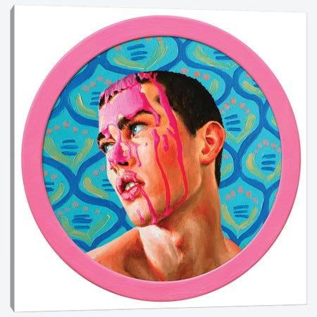 Pink On The Face II Canvas Print #OBA169} by Oleksandr Balbyshev Canvas Artwork