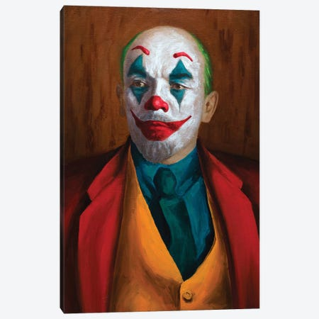 Put On A Happy Face Canvas Print #OBA170} by Oleksandr Balbyshev Canvas Print