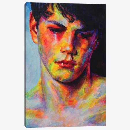 Sad Face Canvas Print #OBA172} by Oleksandr Balbyshev Canvas Print
