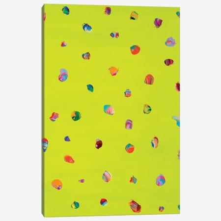 Spots On Green Canvas Print #OBA183} by Oleksandr Balbyshev Canvas Artwork