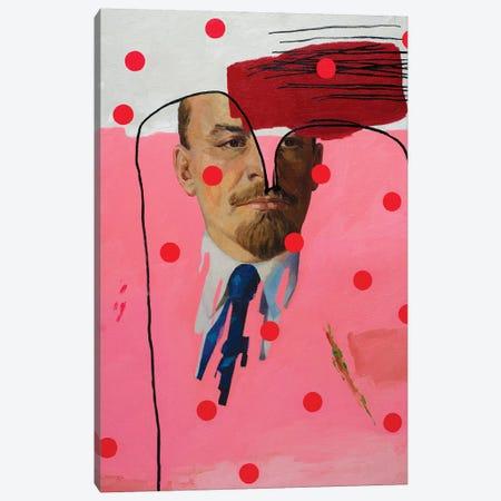Who Are You, Mr. Lenin? Canvas Print #OBA192} by Oleksandr Balbyshev Art Print